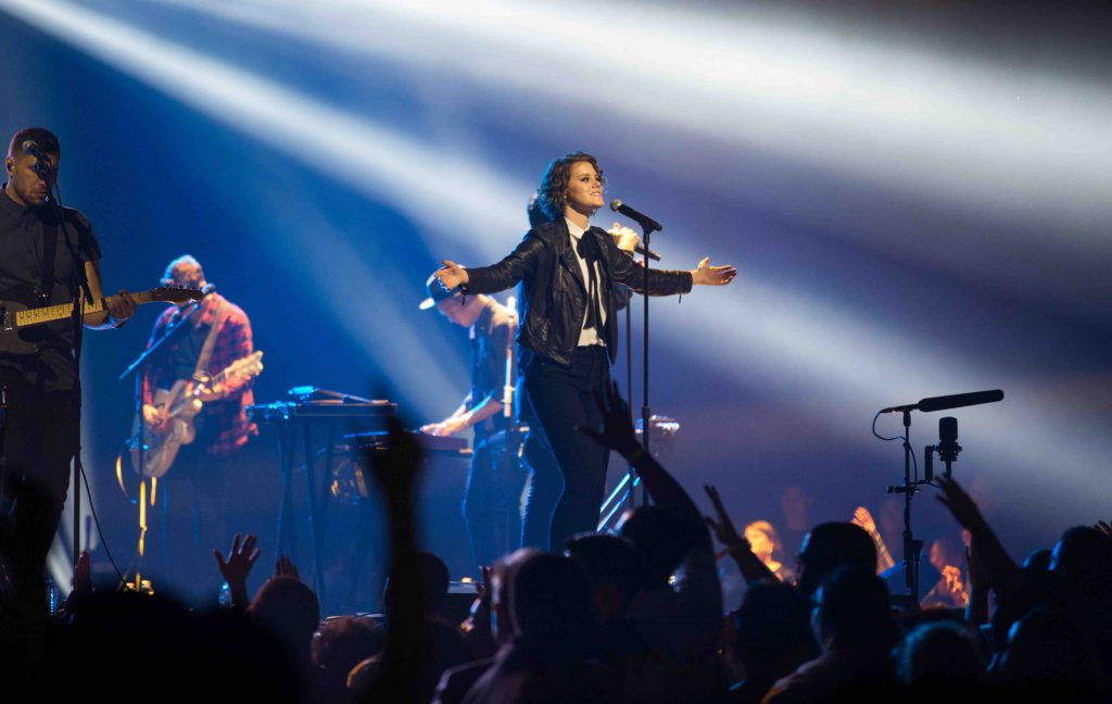 Hillsong United, one of this year's Dove Award nominees.