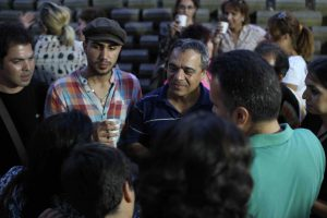 Reza Safa meets with believers in Turkey who came to faith in Christ through TBN Nejat TV.